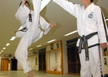 above head level front raising kick taekwondo tkd