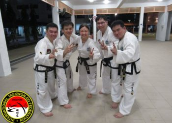 tkd taekwondo black belt third dan